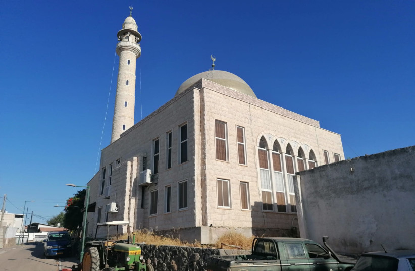 The mosque in which the injured owl was found. (photo credit: Courtesy)