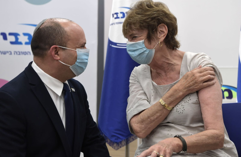 Naftali Bennett's 5 reasons for giving a third COVID-19 shot in Israel
