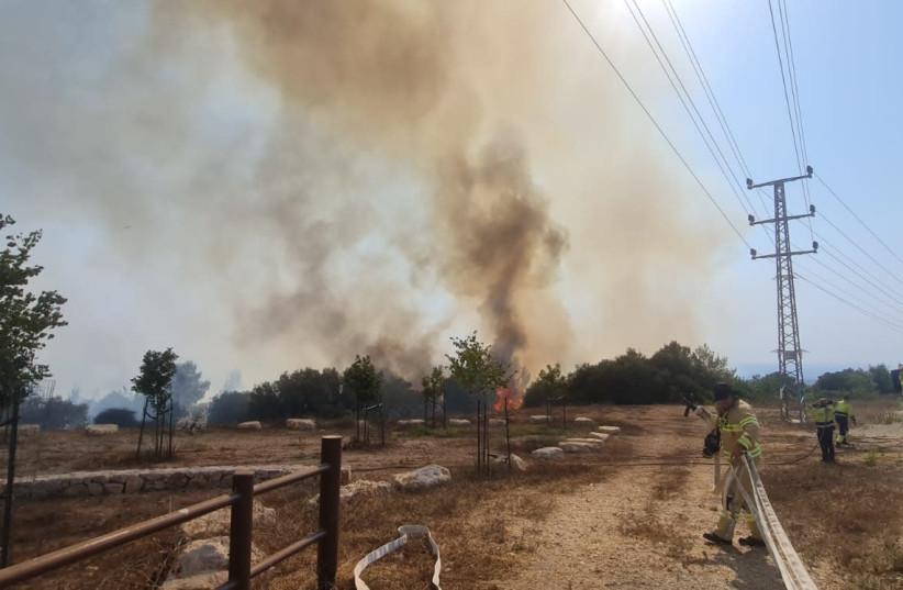 IDF strikes Gaza in response to incendiary balloons – report