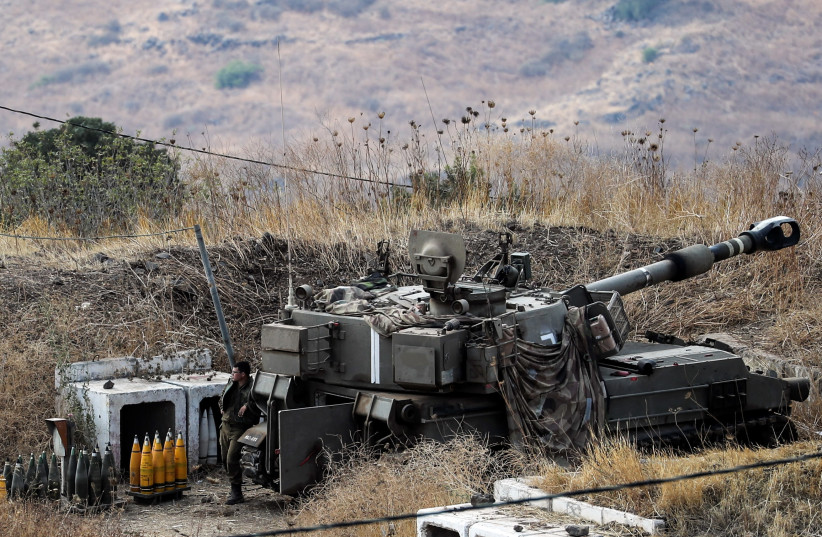 Hezbollah releases video footage of rocket attack on Israel