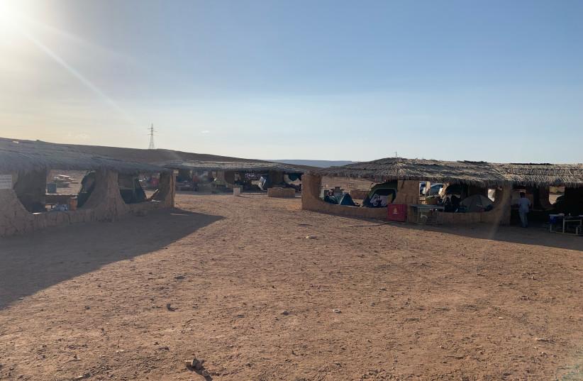Be'erot campsite near Maktesh Ramon. (credit: Courtesy)