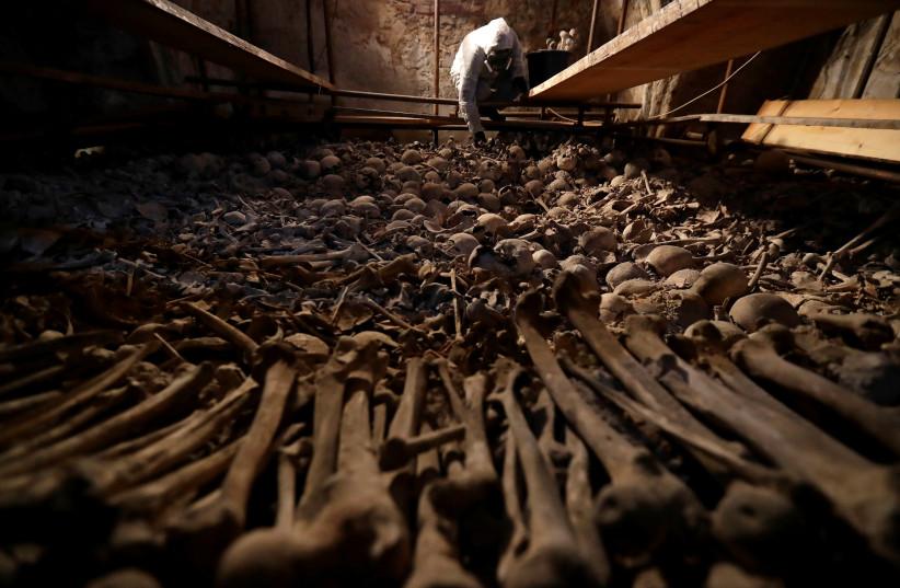 Illustrative image of human bones (photo credit: REUTERS/DAVID W CERNY)