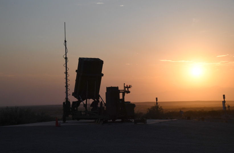 Iron Dome (credit: MINISTRY OF DEFENSE SPOKESPERSON'S OFFICE)