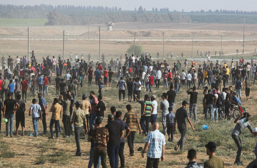 Tensions high as IDF confronts Gaza border riots