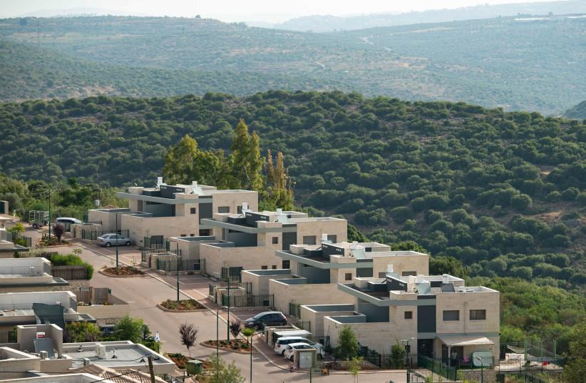 View of the Israeli settlement of Yakir on June 11, 2020. (credit: SRAYA DIAMANT/FLASH90)
