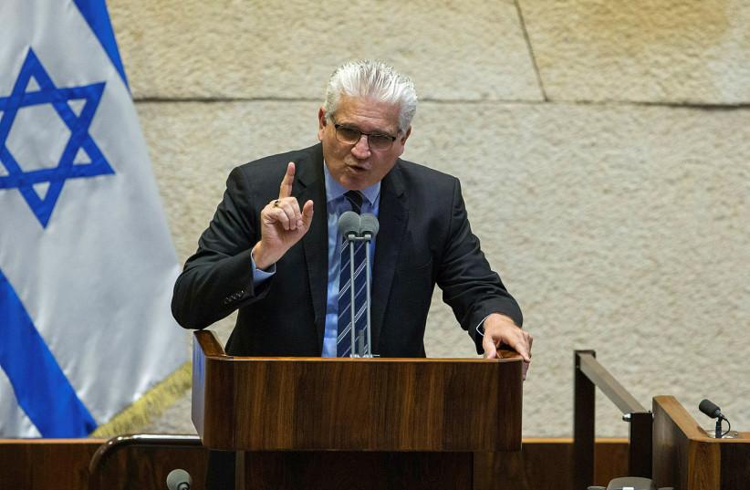 El ministro de Planificación Estratégica, Eli Avidar.  (crédito: DANI SHEM TOV / KNESSET SPEAKER OFFICE)