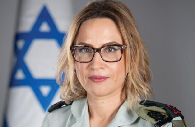 YIFAT TOMER-YERUSHALMI – she had to deal with terrorists, suicide bombings, large numbers of murder cases at the same time, thousands of administrative detention cases and thousands of soldiers being stationed constantly in the West Bank and Gaza – both as a lawyer and then as a judge. (credit: IDF)
