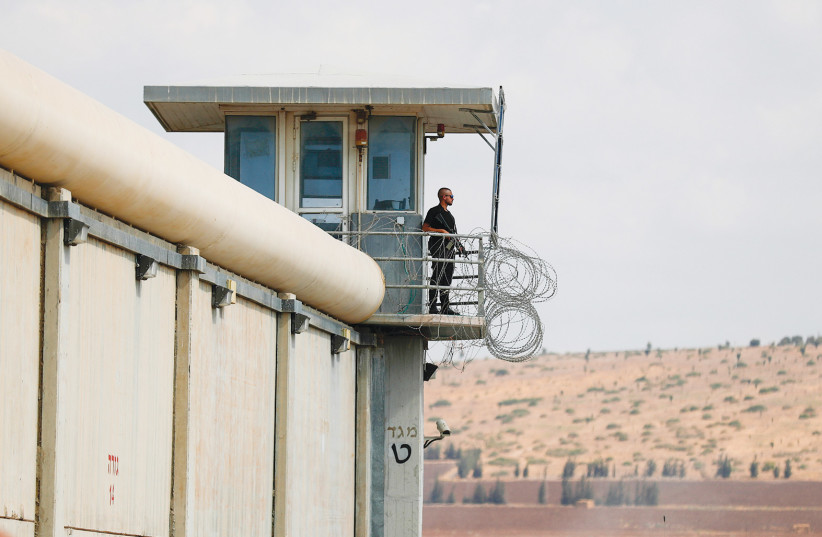 Gilboa Prison. What went wrong? (credit: FLASH90)