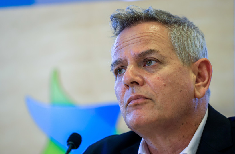 Health Nitzan Horowitz attends a press conference about the Coronavirus, in Jerusalem on August 29, 2021. (credit: OLIVIER FITOUSSI/FLASH90)