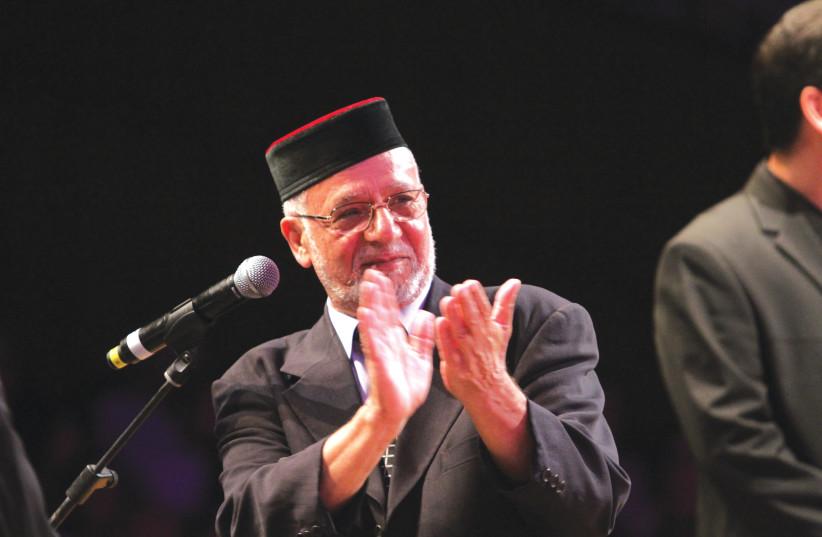 RABBI HAIM LOUK (credit: RAPHAEL DELOUYA)