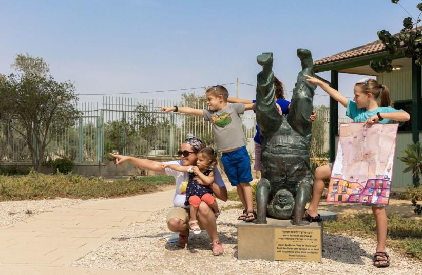 Merotzrif - journey in search of Ben-Gurion. (credit: TZVIKA SHMAYA)