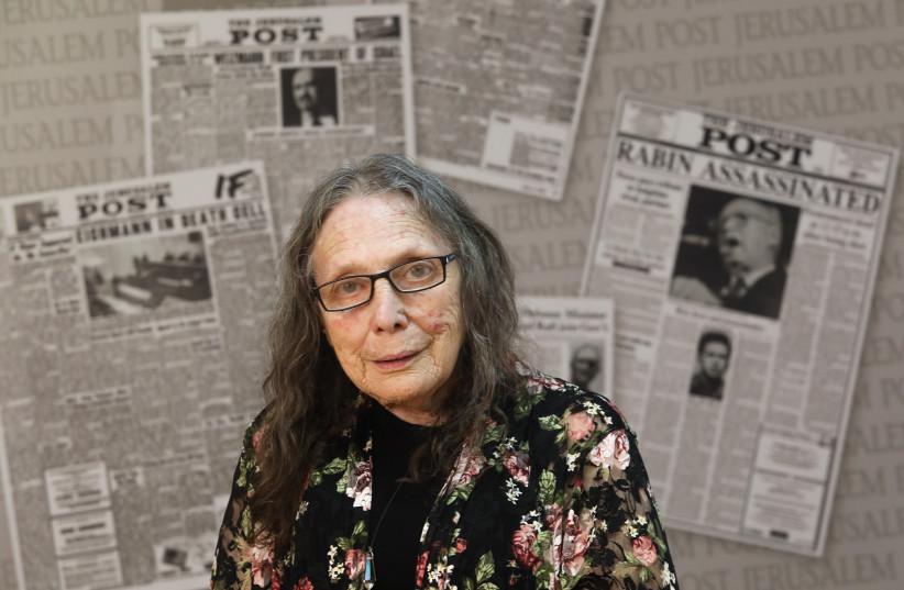 Greer Fay Cashman (credit: MARC ISRAEL SELLEM/THE JERUSALEM POST)