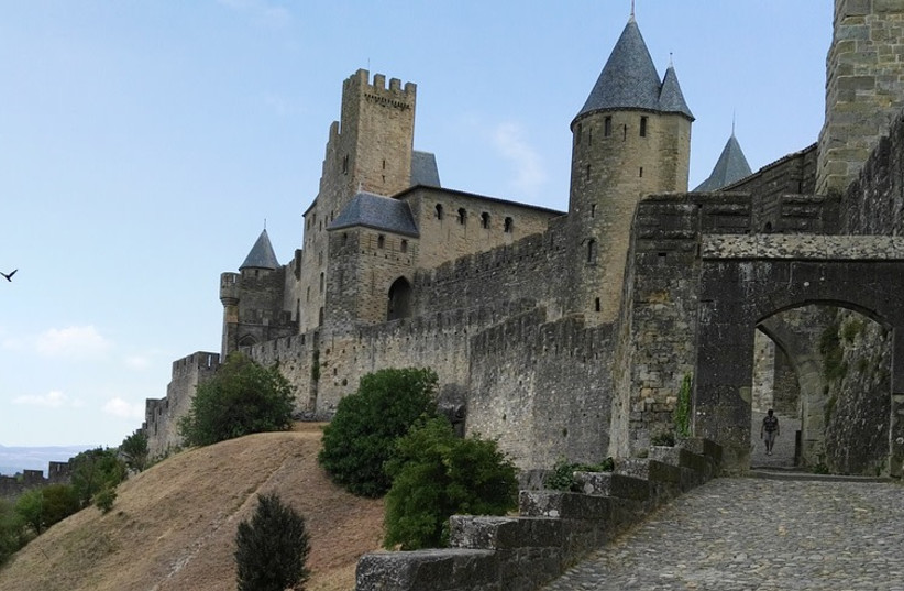 Medieval French castle  (photo credit: PIXABAY)