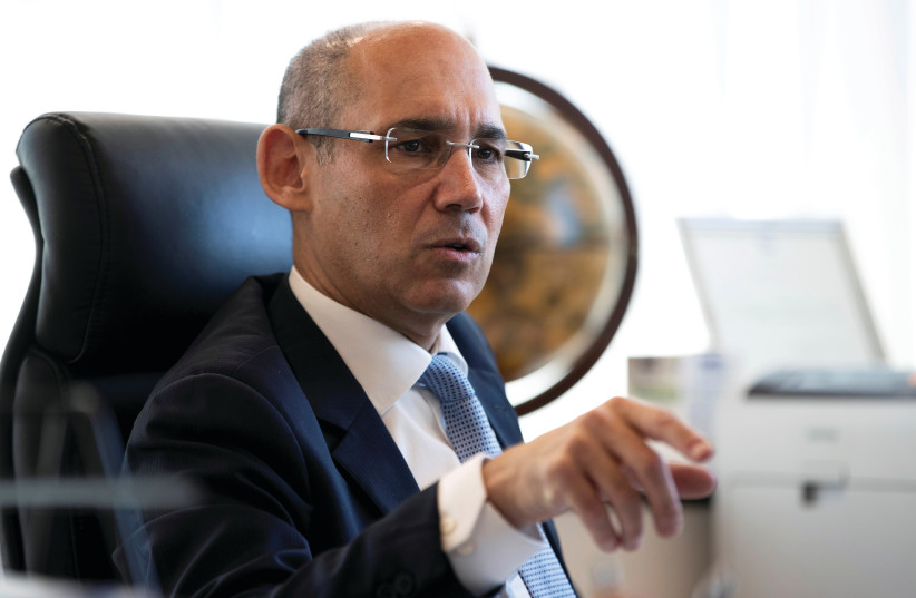 BANK OF ISRAEL Governor Amir Yaron (photo credit: RONEN ZVULUN/REUTERS)