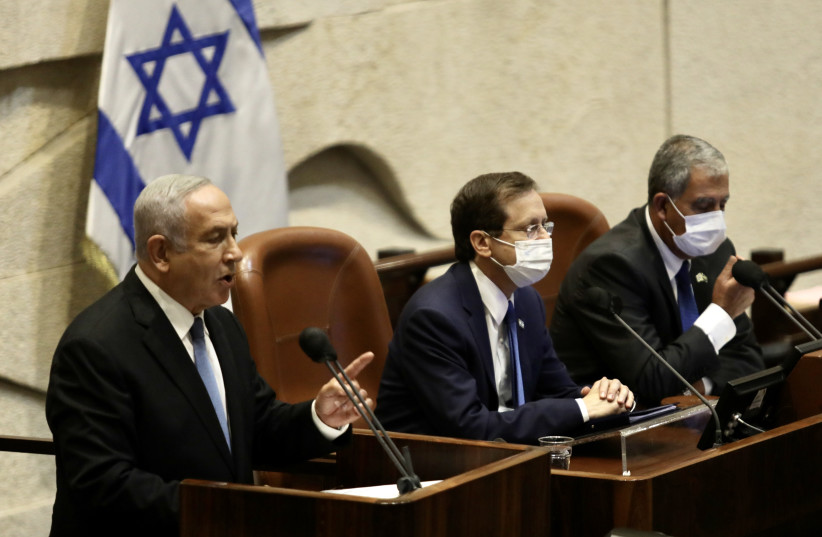Netanyahu's conduct in opposition is destructive in all directions