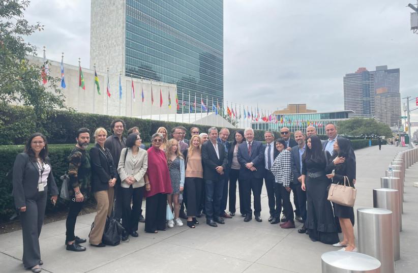 Representatives at AGPI's New York launch (photo credit: AGPI)