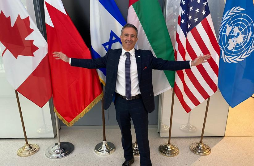 Avi Benlolo, founder of the Abraham Global Peace Initiative (AGPI) (credit: AGPI)
