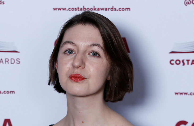 Author Sally Rooney poses for a photograph ahead of the announcement of the winner of the Costa Book Awards 2018 in London, Britain, January 29, 2019 (credit: HENRY NICHOLLS/REUTERS)