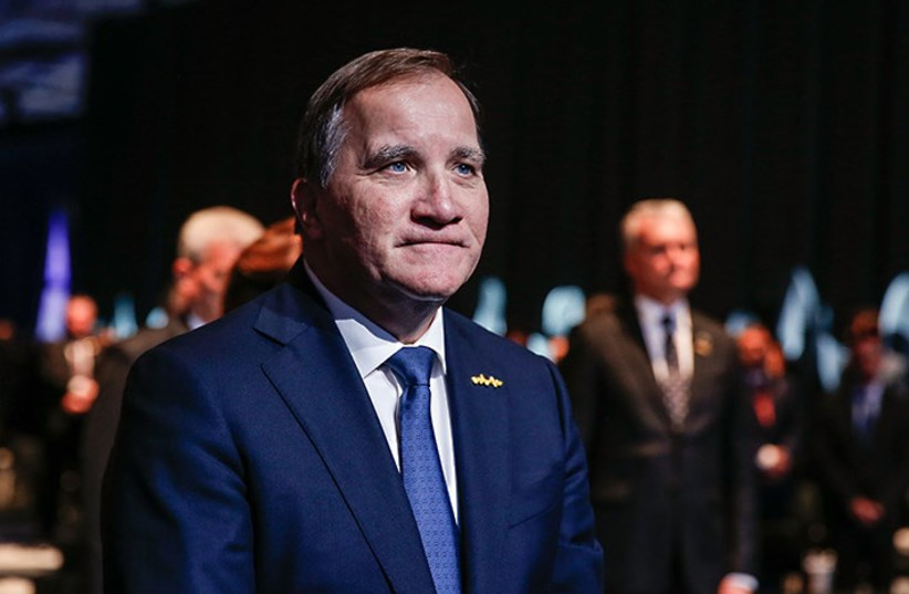 Malmö International Forum on Holocaust Remembrance and Combating Antisemitism hosted by Sweden's Prime Minister Stefan Löfven in Malmö on October 13, 2021. (credit: Magnus Liljegren/Government offices of Sweden)