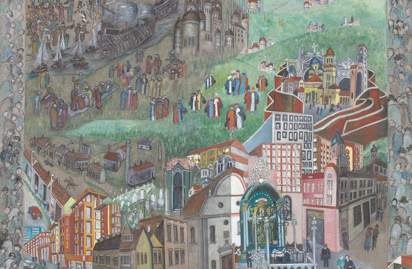 A  Jewish Historical Arrival in Alba lulia by Beverly Jane Stewart. (credit: Courtesy)