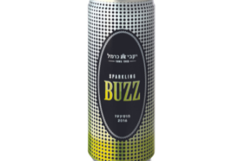 Carmel's Buzz canned wine (credit: Courtesy)