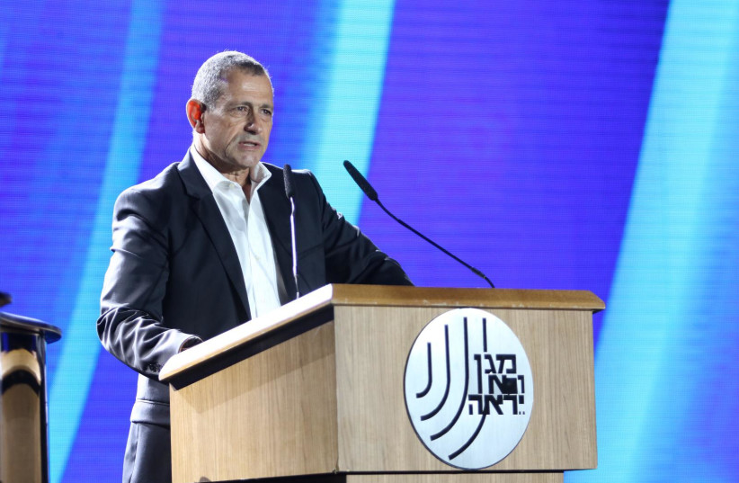 Outgoing Shin Bet leader Nadav Argaman. (credit: SHIN BET)