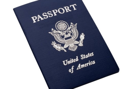 US passport [Illustrative]