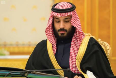 SAUDI CROWN Prince Muhammad bin Salman attends a cabinet meeting in Riyadh earlier this month.