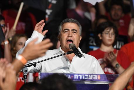 Labor leader Amir Peretz
