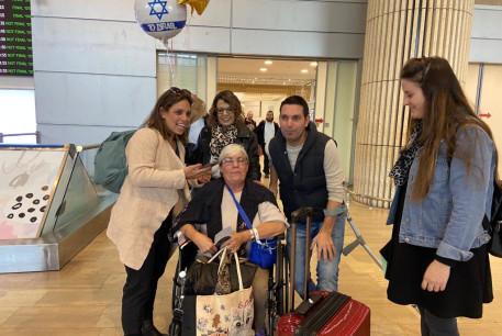 Rachel Biton returns to Israel