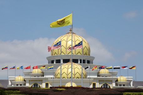 A general view of Malaysia's National Palace in Kuala Lumpur, Malaysia, February 25, 2020