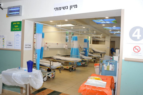 THE NEW coronavirus ward was completed in three days last week