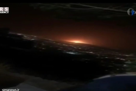 Explosion near Tehran, June 26, 2020