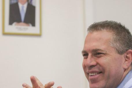 GILAD ERDAN, Israel's ambassador-designate to Washington, faces challenging times.