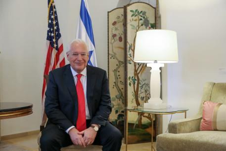 Outgoing US Ambassador to Israel David Friedman, January 18, 2021