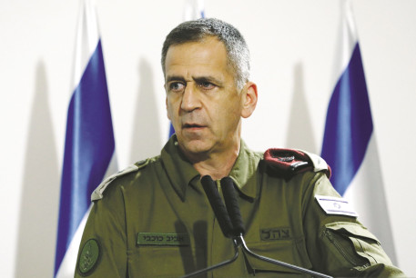 IDF CHIEF of Staff Lt.-Gen. Aviv Kochavi. Israel can criticize the Americans for returning to the Iran deal, as Kochavi illustrated during a speech last month.