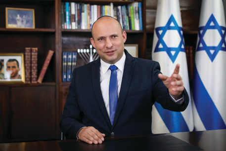 NAFTALI BENNETT: I need 15 seats, which would be the critical mass needed to be able to form a government.