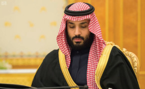 SAUDI CROWN Prince Muhammad bin Salman attends a cabinet meeting in Riyadh earlier this month.