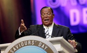 eligious leader Louis Farrakhan gives the keynote speech at the Nation of Islam Saviours' Day convention in Detroit, Michigan, U.S. February 19, 2017.