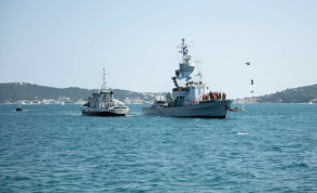 Israeli Navy participates in a joint drill in French waters