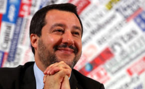 Italian Deputy Prime Minister and right-wing League party leader Matteo Salvini attends a news conference at the Foreign Press Club in Rome, Italy December 10, 2018.