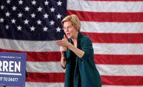 Democratic 2020 U.S. presidential candidate and U.S. Senator Elizabeth Warren (D-MA)