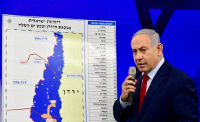 Benjamin Netanyahu announces that if reelected, he will extend Israeli sovereignty over the Jordan Valley, September 10 2019