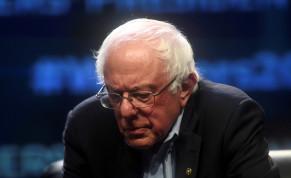 Democratic Presidential candidate U.S. Senator Bernie Sanders (D-VT)