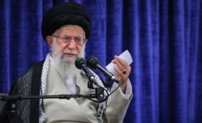 Iranian Supreme Leader Ayatollah Ali Khamenei, May 14, 2019