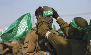 HAMAS MEMBERS in Gaza.