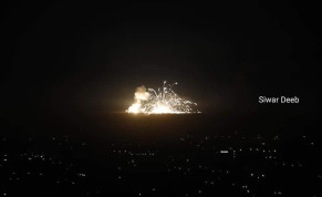 IAF attacks Syrian and Iranian targets in Syria, November 20, 2019