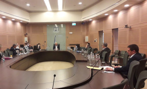 Knesset commitee on coronavirus meets to discuss furher regulations, April 7, 2020