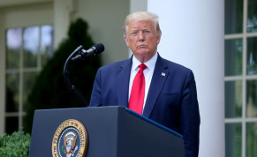 US President DonaldTrumpspeaks about negotiations with pharmaceutical companies over the cost of insulin for US seniors on Medicare at an event in the Rose Garden at the White House during the coronavirus disease (COVID-19) outbreak in Washington, US May 26, 2020