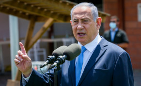 Prime Minister Benjamin Netanyahu visits Home Front Command, August 4, 2020